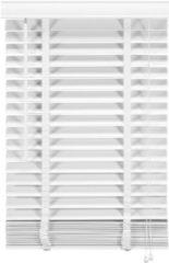 Witte Woonexpress jaloezie HOUT 140x210