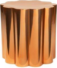 Roze Beekwilder LVT Florero geschulpte plantenbak metaal koperkleurig