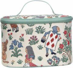 Groene Signare - Toilettas - Gobelin - Alice in Wonderland – Charles Voysey