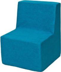 Go Go Momi Zachte foam stoel, kinderen, kinderen, comfortabel, zetel, kinderdagverblijf, Kids meubels, spelen, ontspannen - Blauwe