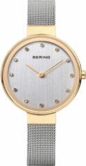 BERING 12034-010 - Horloge - Staal - Goudkleurig - Ø 34 mm