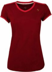 Rode Q1905-Quick Dames Tee Brush mesh Q Sundried Tomatoes