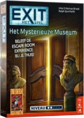 999 Games EXIT Het Mysterieuze Museum Breinbreker - Escape Room - Bordspel