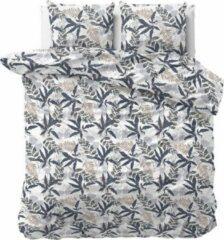 Witte Dekbed-Discounter Dekbed Discounter - Eenpersoons Dekbedovertrek Agatha 140x220 cm - Polycotton - Dekbedovertrek met kussensloop