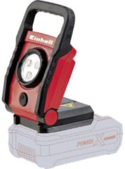Rode EINHELL Accu Lamp TE-CL 18 Li Solo - Power-X-Change - 18 V - 270 lm - 3-Led's - Zonder accu & lader