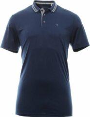 Calvin Klein Golf Polo Stretch Blauw XXL