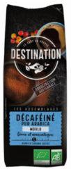 Destination Koffie decaf puur arabica gemalen 250 Gram