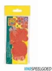Rode Ses Mini Strijkkralenbordjes