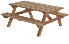 Bruine Talen Buitenmeubelen Picknicktafel hardhout 180cm