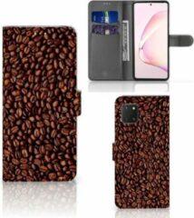 Bruine Mobiel Hoesje Samsung Note 10 Lite Smartphone Hoesje Koffiebonen