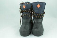 Snowboots d.blauw-oranje