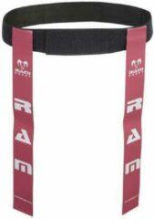 RAM Rugtby Tag Rugby Riem Set - de beste op de markt - Roze Large
