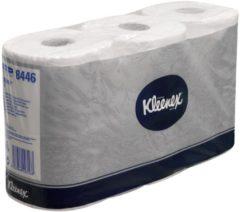Toiletpapapier Kleenex pak van 6 rollen, 600 vellen per rol, 2-laags