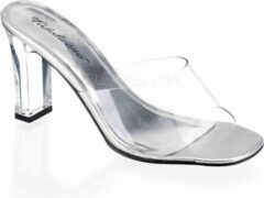 Fabuliciuos Hoge hakken -37 Shoes- ROMANCE-301 US 7 Zilverkleurig