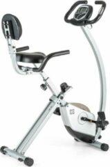Zilveren Capital_sports Trajector X-Bike hometrainer 3 kg vliegwiemassa zwart