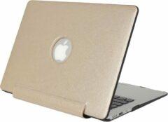 Mobigear Hard Case Silk Texture United Goud voor Apple MacBook Air 11 inch