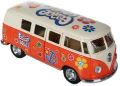 Volkswagen VW model busje oranje