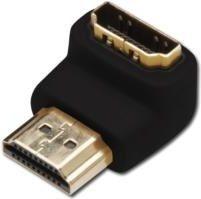 Zwarte ASSMANN Electronic AK-330502-000-S HDMI A HDMI A Zwart kabeladapter/verloopstukje