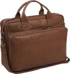 Black Friday Korting. Chesterfield Bags Laptoptas Jackson Cognac nu voor € 208.05