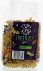Linzen mix fusilli Your Organic Nature - Zakje 225 gram - Biologisch