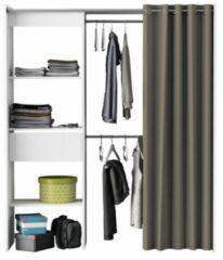 Young Furniture Open kledingkast Chicago 187 cm hoog - Wit