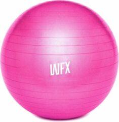 #DoYourFitness Gymnastiek Bal - »Orion« - zitbal en fitness bal ter ondersteuning van lichaamshouding, coördinatie en balans - Maat : 55 cm - roze