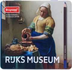 Royal Talens Bruynzeel Hollandse Meesters blik 24 kleurpotloden - Het Melkmeisje van Vermeer