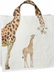 """Bruine Esschert Design Shopper """"Giraf met jong"""""""