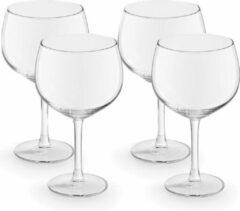 Royal Leerdam 8x Cocktailglazen transparant 650 ml Gin Tonic serie - 65 cl - Cocktail glazen - Cocktails drinken - Cocktailglazen van glas