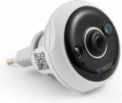 Witte Technaxx TX-57 IP-beveiligingscamera Binnen Muur 1920 x 1080 Pixels