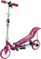 Brandunit Space Scooter Roze/Wit - Step
