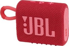 JBL Go 3 Rood - Draadloze Bluetooth Mini Speaker