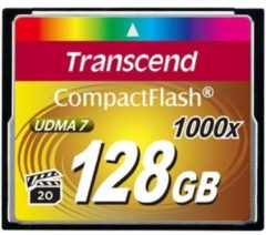 Transcend Information Transcend Ultimate - Flash-Speicherkarte - 128 GB TS128GCF1000