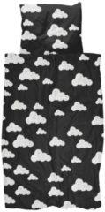 Zwarte Snurk Cloud 9 dekbedovertrekset van biologisch katoen 160TC - inclusief kussenslopen