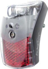 Zwarte Spanninga Pixeo Fiets achterlicht - Batterij - Met Auto-sensor
