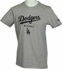 Grijze New Era Team Apparel Classic Tee XXL Dodgers
