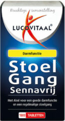 3x Lucovitaal Stoelgang Sennavrij 180 tabletten