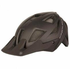 Bruine Endura - MT500 Helm - Fietshelm maat S-M zwart/bruin