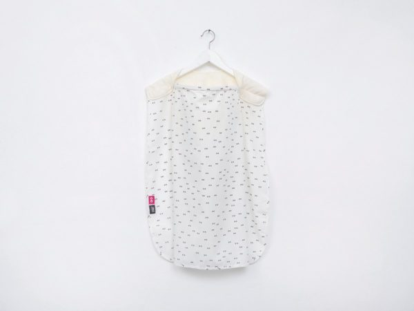 Afbeelding van Creme witte Simplygood - Duo borstvoedingsdoek - Ecru/Ecru-Ogen - One size