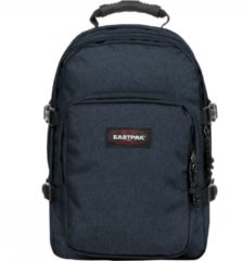 Blauwe Eastpak Provider Rugzak 15 inch laptopvak - Triple Denim