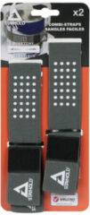 Zwarte Stayhold Combi Strap Pack 350mm x 38mm
