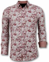 Gentile Bellini Exclusieve heren overhemd rood