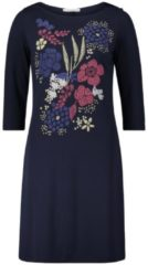 Kleid mit Frontprint Betty Barclay dunkelblau - Blau