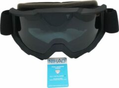 Zwarte Nihao Coral TPU Ultra-Light frame. Ski/Snowboard Goggle