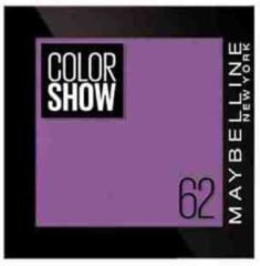 Paarse Maybelline Oogschaduw Color Show - 62 Purple Life