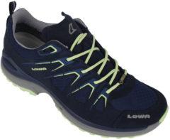 Blauwe Lowa Innox Evo GTX LO wandelschoenen dames marine/grijs