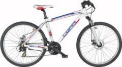 Fausto Coppi 26 Zoll Mountainbike 21 Gang Aluminium Coppi... 44cm, weiß-blau-rot