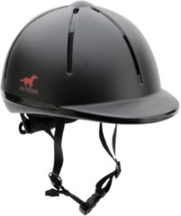 Red Horse ruitercap Rider junior zwart maat XS/S