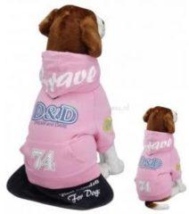 D&D Hondenjas Bravedog - Roze - M - 31 x 45 x 26 cm