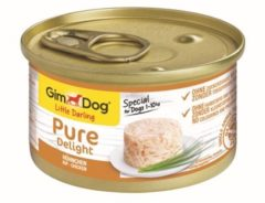 Gimdog Little Darling Pure Delight - Kip - Hondenvoer - 12 x 85 g